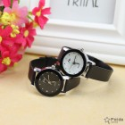 MONTRE STYLE SIMPLE CLASSIQUE COUPLE 2PCS