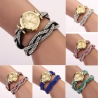 MONTRE- BRACELET FASHION TRESSE