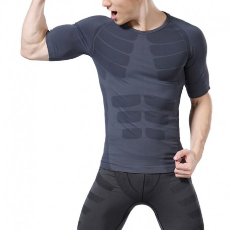 T-Shirt Compression Homme Manches court