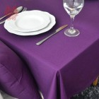 Nappe de Table Violet 100% Coton