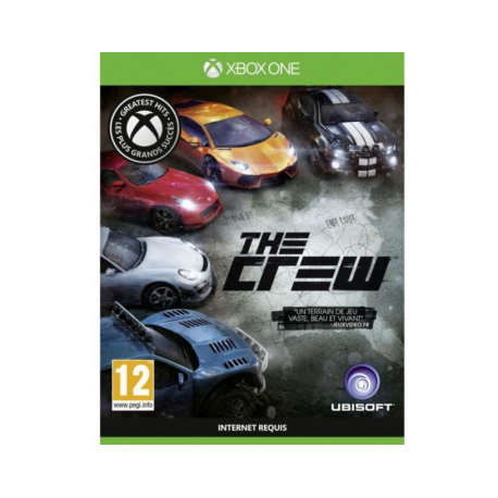 Jeu Xbox One Ubi Soft The Crew Grea