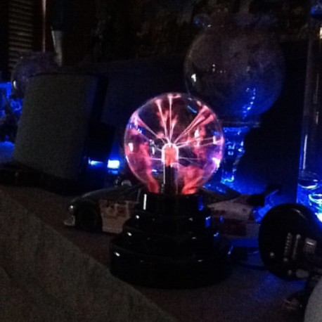 Sphère Magic Light Boule de Plasma USB
