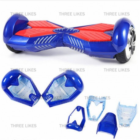 New Blue 6.5 Inch Hoverboard Shell Frame Case for Smart 2 Wheel Self Balancing Electric Scooters Plastic Cover House Accessories