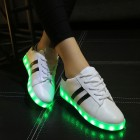 Led chaussures femmes lumineux