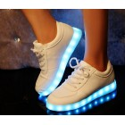 Glowing chaussures