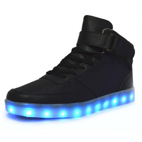 Led lumineux chaussures hommes femmes mode Light UP