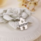 collier best friend puzzule 2 en 1