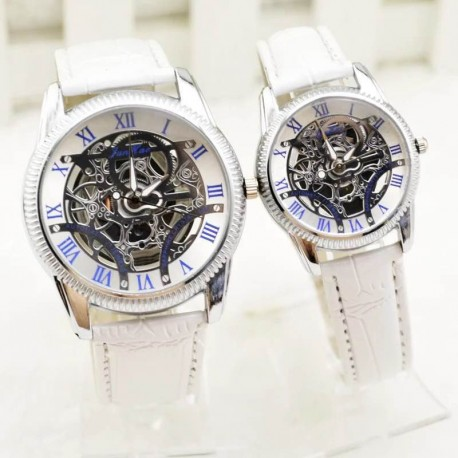 Montre couple - Squelleton