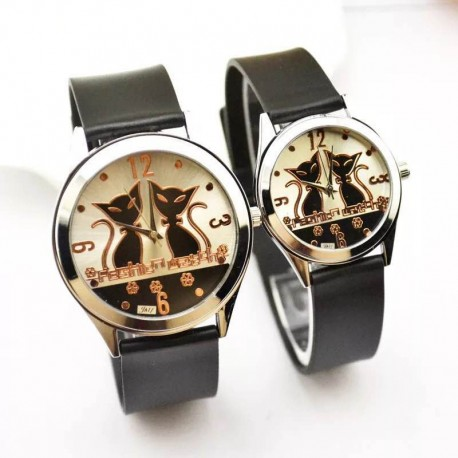 Montre couple - Mr&Ms Cat