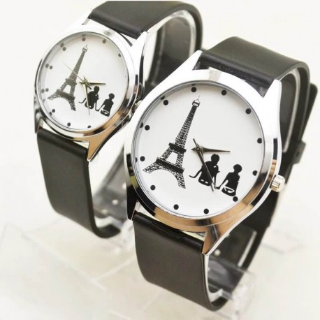 Montre couple - Amour de Paris