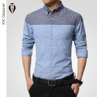 Chemise D'affaires Slim Fit Flanelle