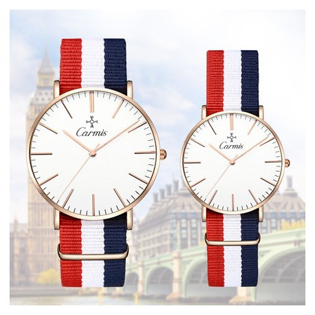 Montre couple Carmis