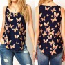 Camisole florale