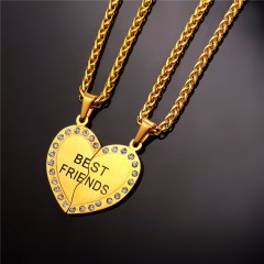 Collier Best Friend 2 en 1