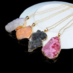Collier en cristal de Quartz naturel