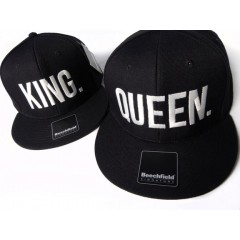 Casquettes KING and QUEEN
