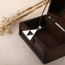 The Legend of Zelda la Triforce collier métal