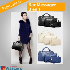 Sac Messager 3 en 1