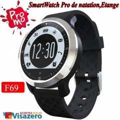 Bluetooth Smartwatch F69 pulsomètre