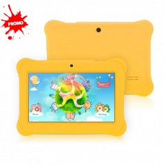 Tablette éducative enfant WiFi Quad core Double caméra 8 GB Android4.4 Bluetooth 4.0