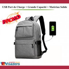 Sac à Dos Usb Multifonction Pc High Tech Bag
