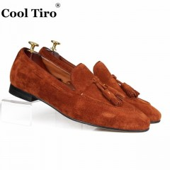 Cool Tiro Brown Mocassins Hommes