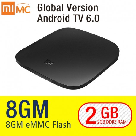 Xiaomi MI TV BOX 3 Smart 4 K Ultra HD