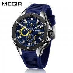 Montre MEGIR Blue Soft