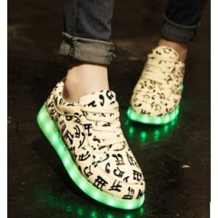 CHAUSSURES ESPADRILLES PUZZLES LED F001