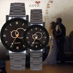 Love montre couple de luxe