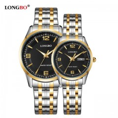 LONGBO Montre de luxe couple