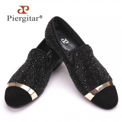 Chaussures Mocassins PIERGITAR Carbone