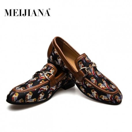 Mocassins MEIJIANA mode bout rond