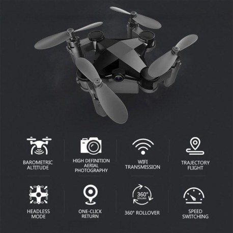 Mini drone piable