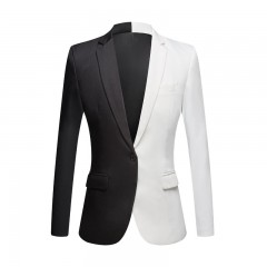 Blazer Slim Black and White