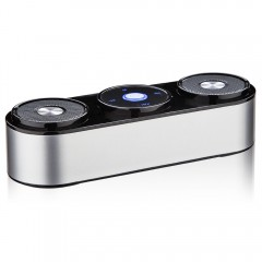 Deep Bass Surround Sound Touch Control Stereo Wireless Bluetooth Speaker Handsfree With Microphone Support TF Card Play