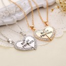 collier couple best friend 2 en 1