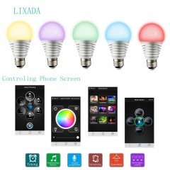 Lixada Bluetooth LED RGB intelligent