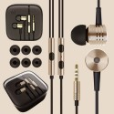 New Original Gold Xiaomi 2nd Piston Earphone 2 Ii Headphone Headset Earbud with Remote & Mic for Mi4 Mi3 Mi2 Mi2s Mi2a Mi1