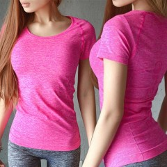 T-shirts Fitness Women Clothes