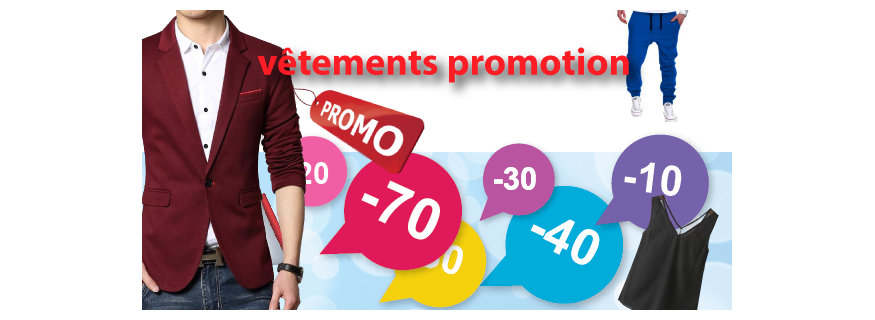 Vêtements promotion