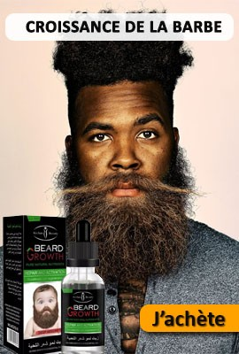 barbe pousse